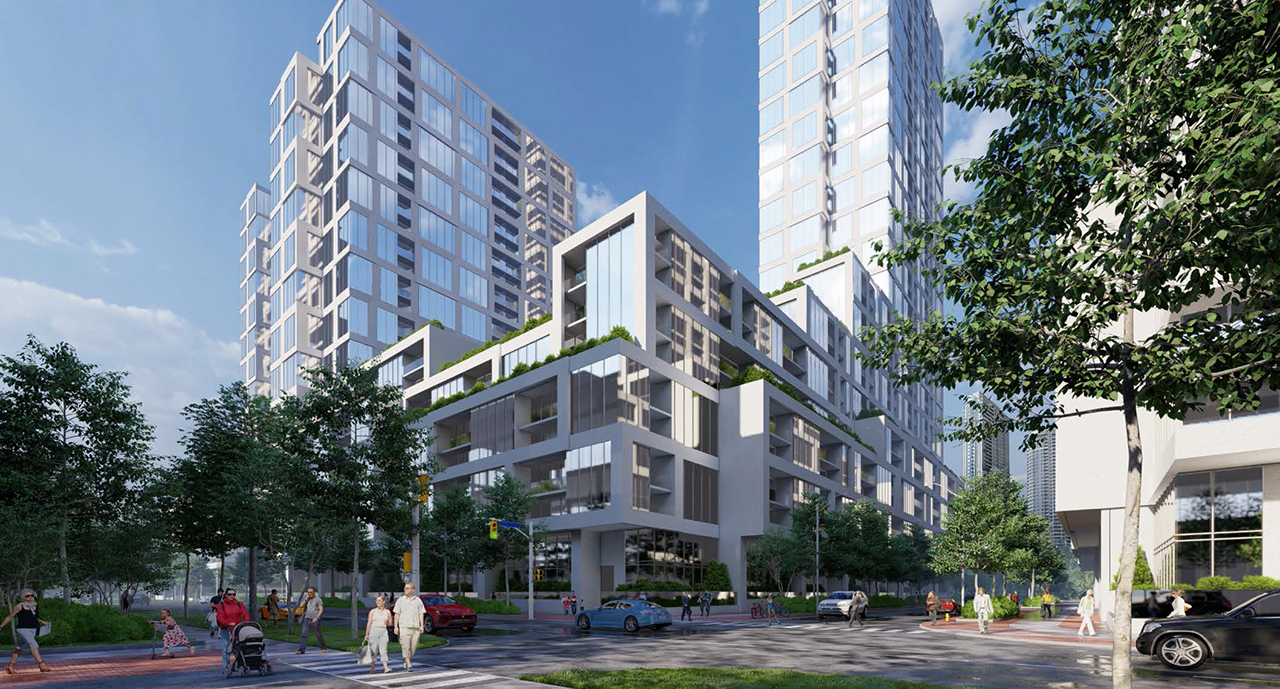 Gemterra Proposes Multi-Tower Complex on Kennedy South of Sheppard