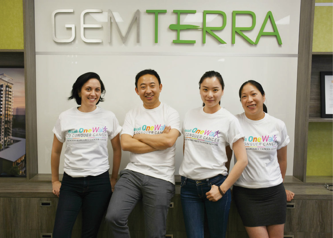 Gemterra raises donation for Princess Margaret
